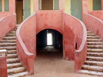 escalera casa esclavos