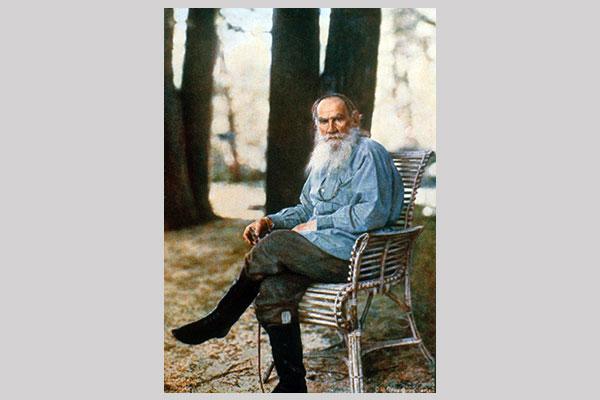 Ilustrados rusos Tolstoi