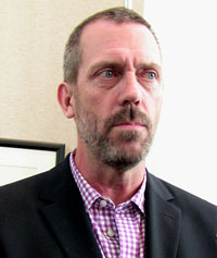 El actor Hugh Laurie, de House