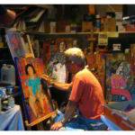 Antonio Mellado · Pinturas y esculturas