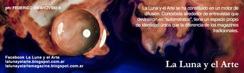 cartel La Luna y el Arte Federico Swarovski