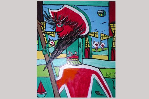 Sánchez Gil exposición de pinturas