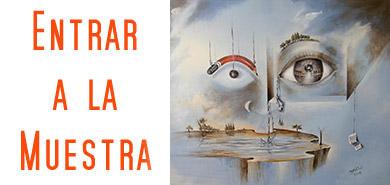Entrada exposición pinturas Daniel Ramos