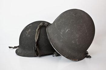 cascos de guerra