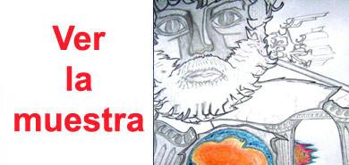 ilustración muestra dibujos Julián Paz