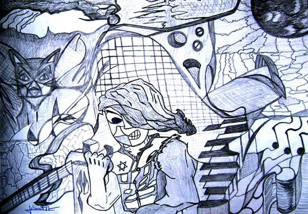 Julián Paz Torres (dibujos y óleos)