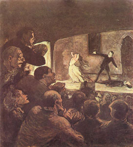 Obra de teatro Honore Daumier