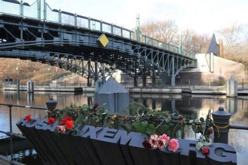monumento a Rosa Luxemburgo
