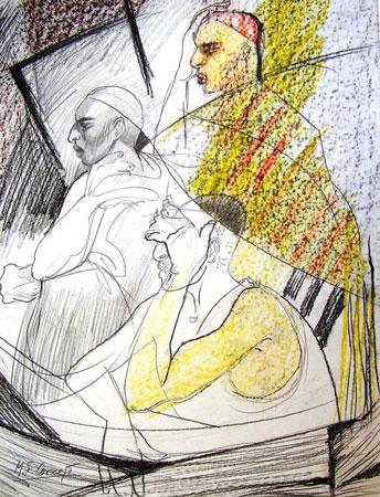poemas Mariano Fernández Cornejo Personajes