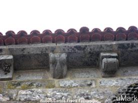 Tejado Santa María de Castrelos