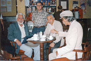 Antonio Terán, Javier Claure, Adolfo Cáceres