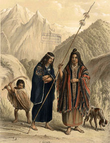 mapuches - 1854