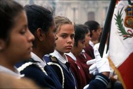 jóvenes peruanas