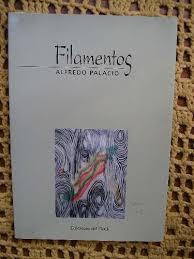 Tapa del poemario Filamentos