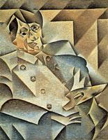 Pablo Ruiz Picasso por Juan Gris