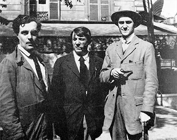 Modigliani, Pablo Ruiz Picasso y André Salmon