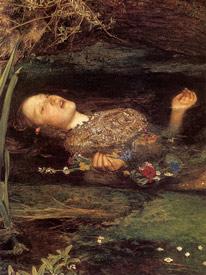 Ofelia John Everett Millais
