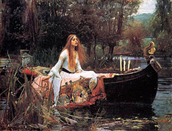 The Lady of Shalott John William Waterhouse