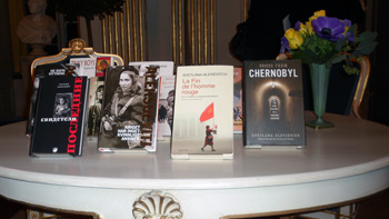 Libros de Svetlana Aleksijevitj