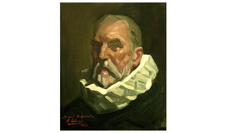 Cervantes sí tiene rostro