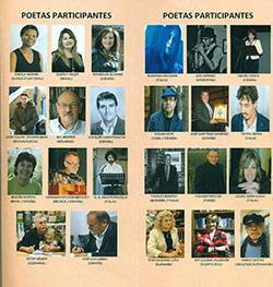 Festival Internacional de Poesía Poetas Participantes