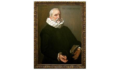 El retrato de Cervantes, de Alejandro Cabeza, en el Museo de Historia de Madrid