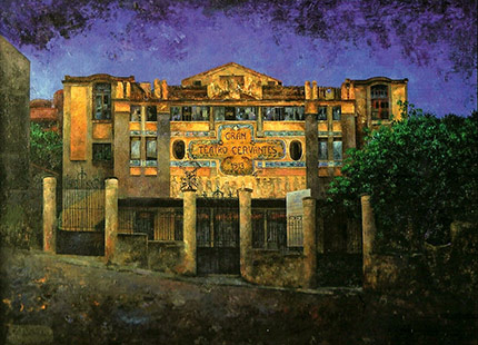 Noche en el Teatro Cervantes