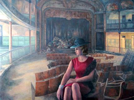 Barbara Hutton en el Teatro Cervantes