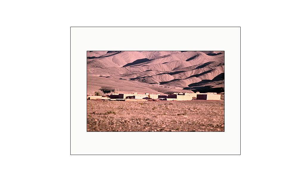 El sol sobre las dunas del desierto