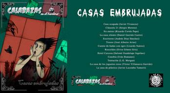 portada antología Casas embrujadas