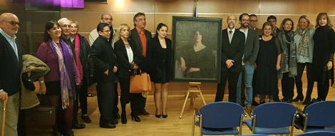 premio cuadro Alejandro Cabeza concurso Ángel Ganivet