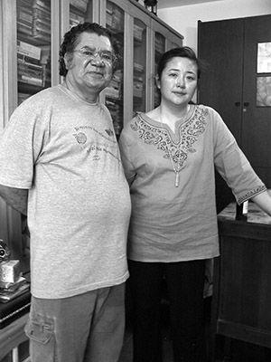 Wilfredo Carrizales y Lan Lan