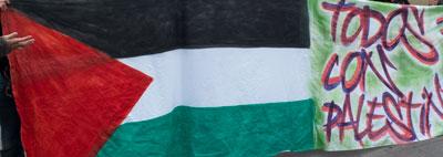 pintada bandera palestina