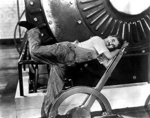 Proyector de palabras Tiempos Modernos Chaplin