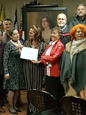 Acto entrega premios Ángel Ganivet