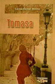 Tapa de la novela Tomasa