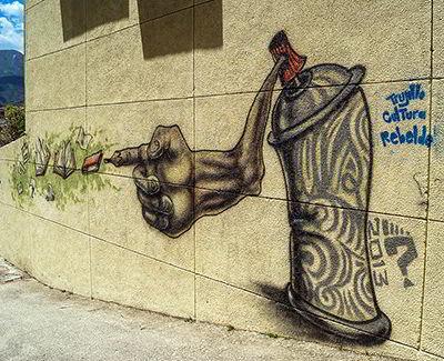 Grafiti en Trujillo · Venezuela