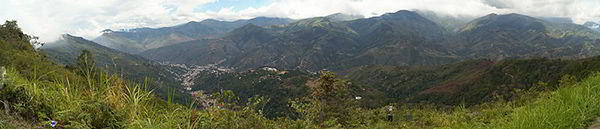 Vista panorámica de Trujillo · Venezuela