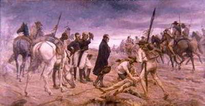 Paso del ejército de Bolívar por el Páramo de Pisba
