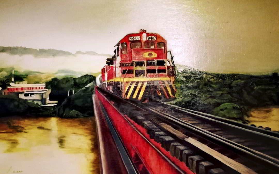 El tren lastrero