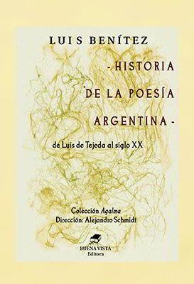 Tapa de Historia de la Poesía Argentina (Luis Benítez)