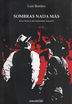 Tapa novela Sombras nada más (Luis Benítez)