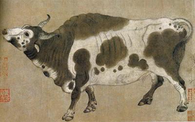 Catorce relatos chinos sobre bueyes, toros y vacas