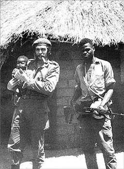 Che Guevara en el congo