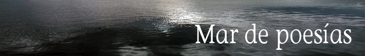 mar de poesías David González